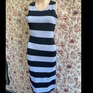 Stripes Long dress
